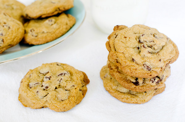 BEST ever chocolate chip cookie recipe from Tate Bakeshop