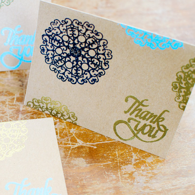 Easy embossed greeting card a side of sweet m4hsunfo