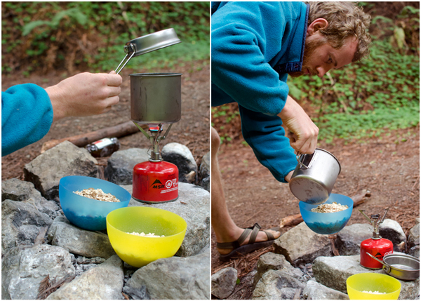 Camping Oatmeal Recipe - just add hot water!