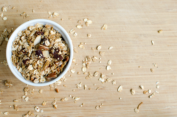 Apricot Quinoa Granola Recipe - a breakfast superfood