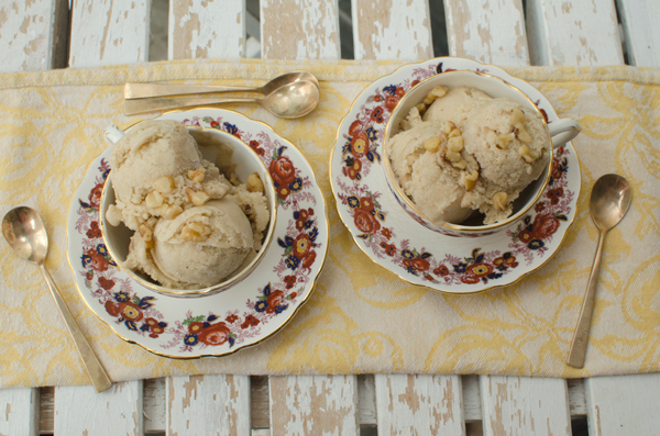 Best Banana Ice Cream - just peanut butter and bananas!