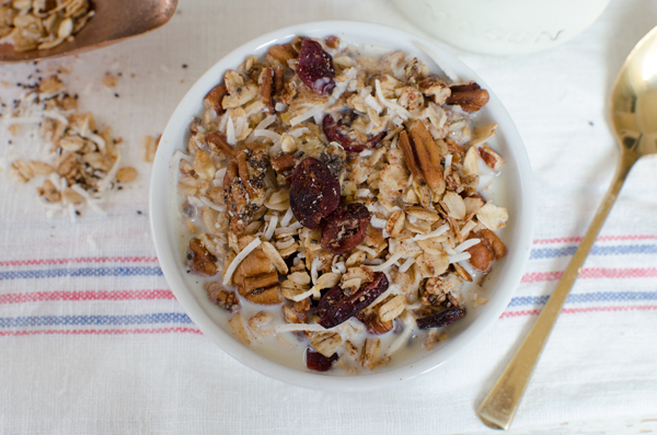 Healthy Protein-Packed Chia Seed Granola Recipe - Gluten Free!