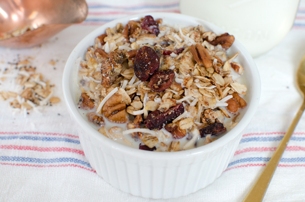 Protein Packed Chia Granola
