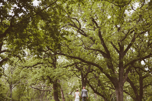 Wedding Photos - Woodland Wedding - Kinsey Mhire Photography