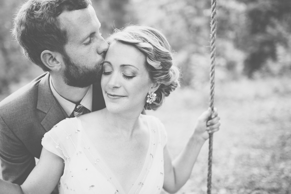 Our Wedding Photos - Wedding Swing - Kinsey Mhire Photography