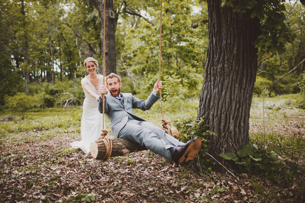 Our Wedding Photos - Forest Wedding - Kinsey Mhire Photography