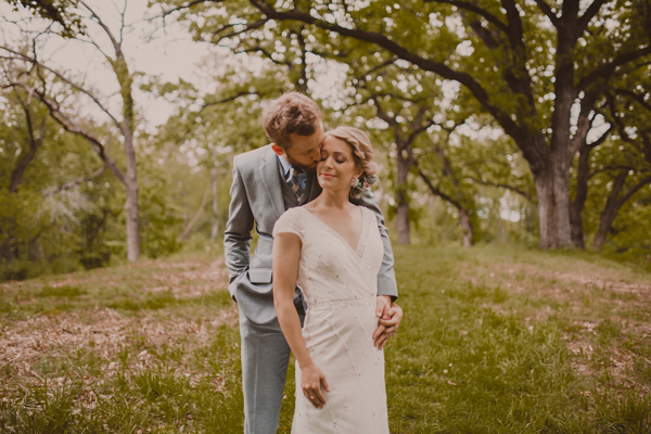 Wedding Photos - Wedding in the Woods - Kinsey Mhire Photography