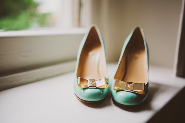 Our Wedding Photos - Pretty Shoes - Kinsey Mhire Photography