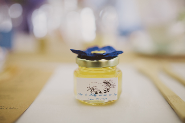 Wedding Details - Honey Jar Party Favors