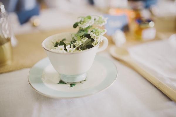 Wedding Details - Teacup Decorations