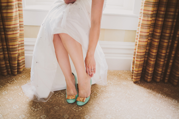 Our Wedding Photos - Karolina Bow Shoes - Kinsey Mhire Photography