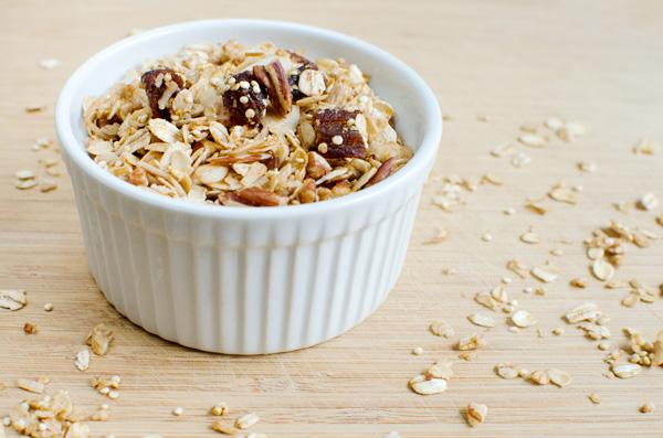 Healthy Apricot Quinoa Granola - Gluten Free & Vegan!