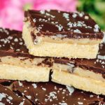 Millionaire Shortbread Bars Recipe with Sweetened Condensed Milk, Chocolate & Caramel