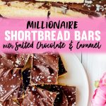 Millionaire Shortbread Bars Recipe with Sweetened Condensed Milk, Chocolate & Caramel