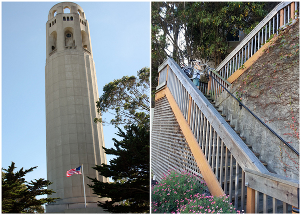 Exploring San Francisco - Coit Tower & Telegraph Hill