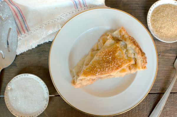 Salted Caramel Apple Pie with All-Butter Pie Crust - from the new Four & Twenty Blackbirds Pie Book!