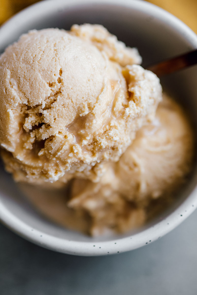 Homemade Caramel Dulce De Leche Ice Cream Recipe