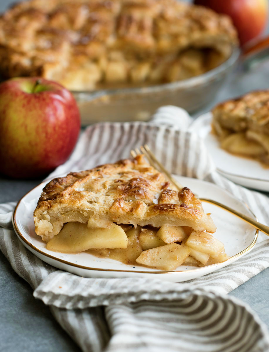 Salted Caramel Apple Pie Recipe From Scratch Filling
