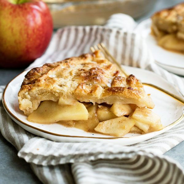Salted Caramel Apple Pie from Scratch