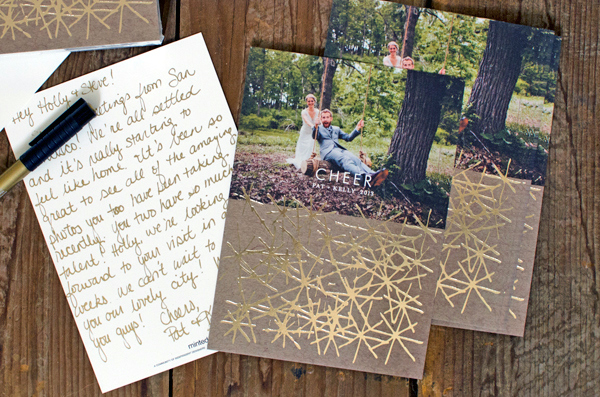Our Holiday Photo Cards + A Minted Promo Code!