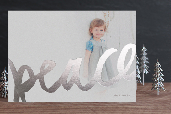 Foil Holiday Cards + a Minted promo code!