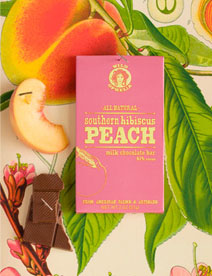 Southern Hibiscus Peach Chocolate - Wild Ophelia & Vosges