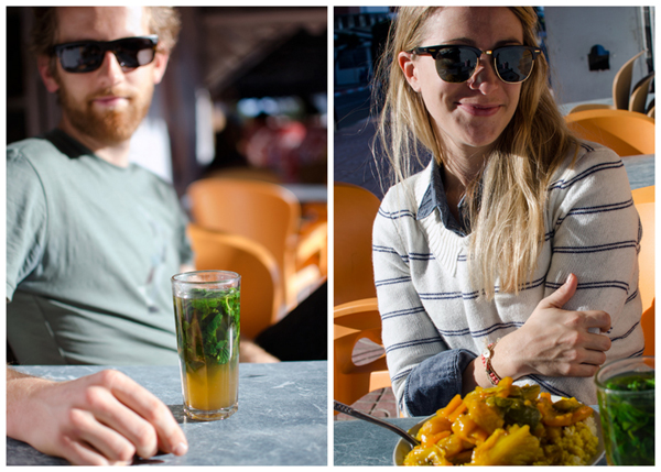 Morocco Honeymoon :: Asilah, Morocco - Mint Tea and Moroccan Couscous