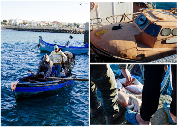 Morocco Honeymoon :: Asilah, Morocco - Local Fishermen