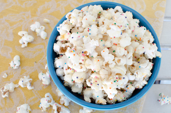 Your Favorite Recipes of 2013 :: White Confetti Popcorn