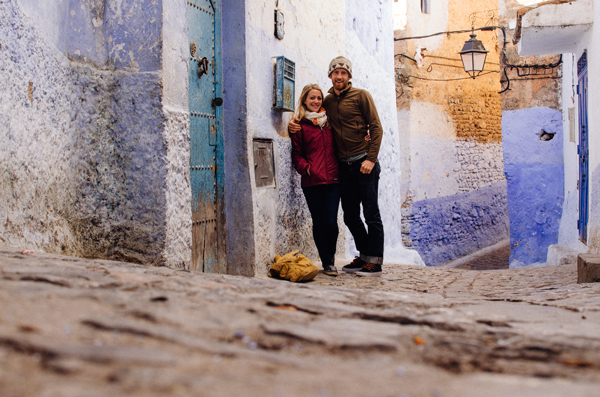 Blue City - Traveling in Chefchaouen Morocco - The Medina