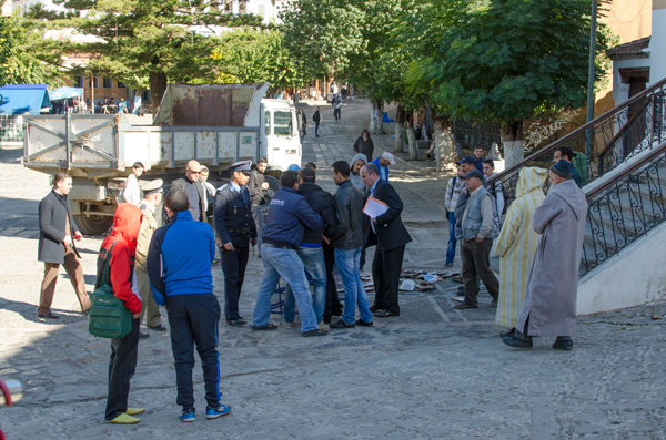 Traveling in Chefchaouen Morocco - A Scuffle