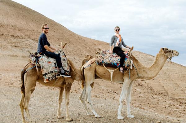 Marrakech, Morocco :: Desert Camel Ride