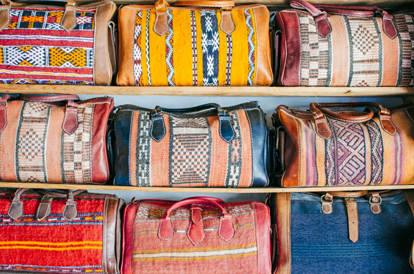 Morocco Honeymoon :: VIsiting the Fez Tanneries - Leather & Carpet Bags