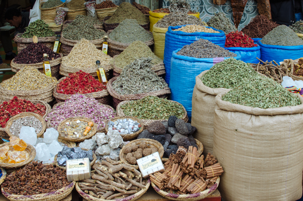 Visiting Marrakech Morocco :: The spice souk