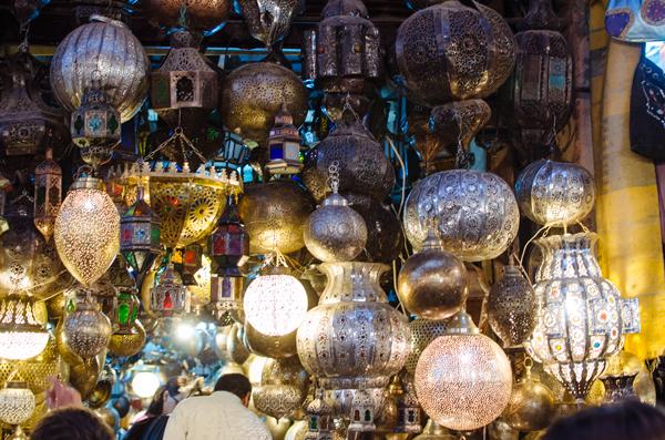 Exploring the souks in Marrakech Morocco