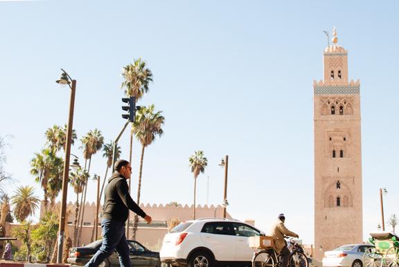 Visiting Marrakech Morocco :: Koutoubia Mosque
