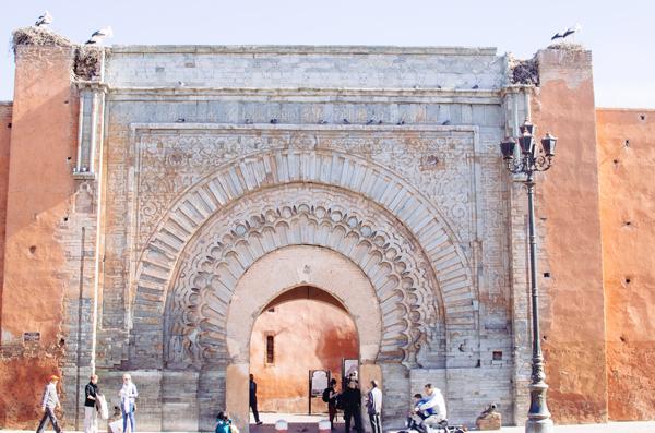 Marrakech Morocco :: Bab Agnaou Gate & Storks