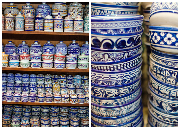 Visiting Fez Morocco :: Buying Fez Pottery
