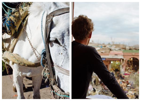 Visiting Marrakech Morocco :: Place des epices