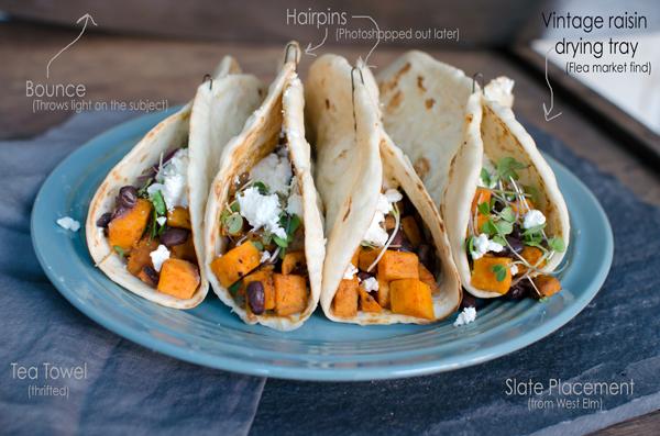 DELICIOUS and Healthy Sweet Potato Black Bean Tacos Recipe
