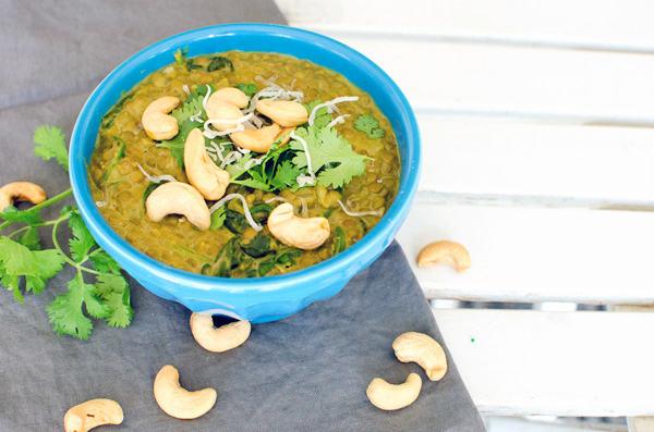 Healthy Coconut Milk Lentil Soup Recipe - Gluten Free and Vegan!