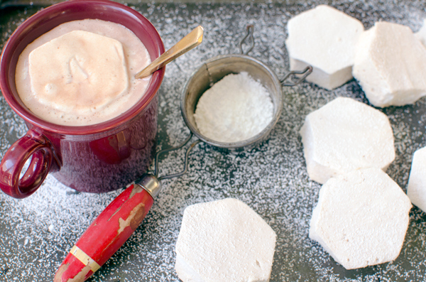Fancy Salted Caramel Bourbon Marshmallows Recipe