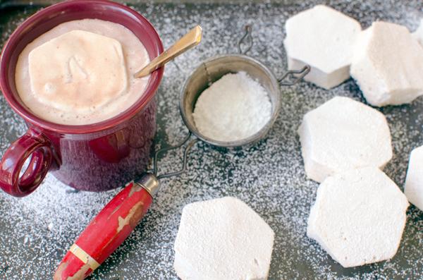 Fancy Salted Caramel Bourbon Marshmallows Recipe