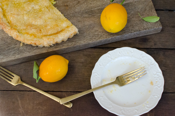 Tartine Lemon Tart Recipe with Meyer Lemons
