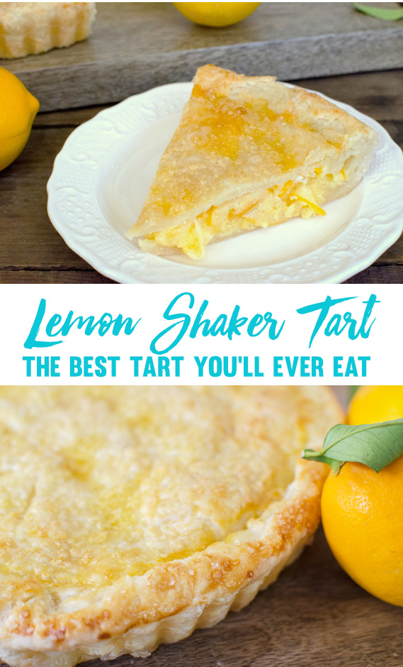 Tartine Bakery Lemon Shaker Tart - The best tart you'll ever eat!