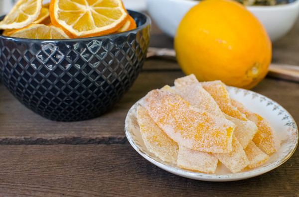 Meyer Lemons, Two Ways :: Candied Lemon Peel & Dried Lemon Slices