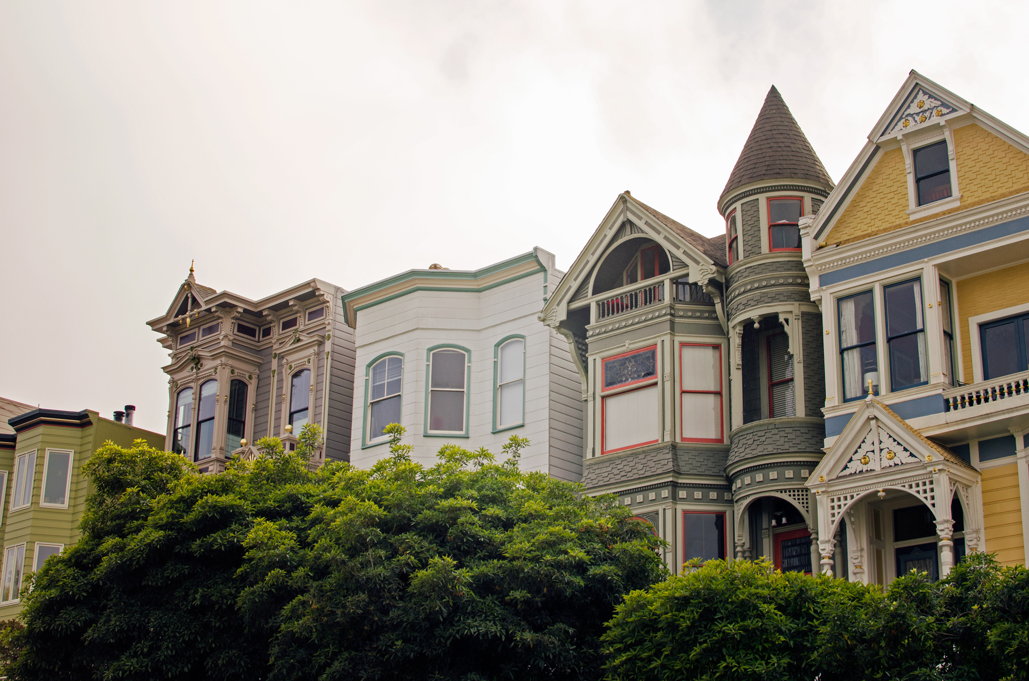San Francisco victorian houses - my dream homes