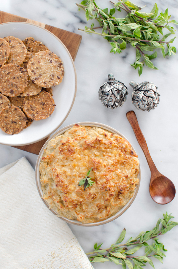 Guilt Free Artichoke White Bean Dip Recipe