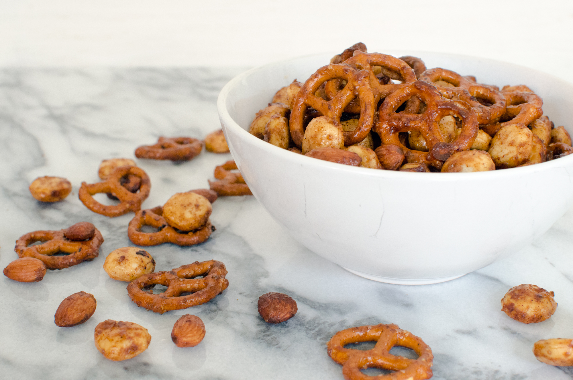 Spicy Sweet Party Mix Recipe