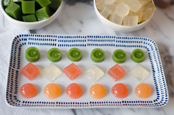 Fancy Fruit Snacks with Evolution Fresh Juices